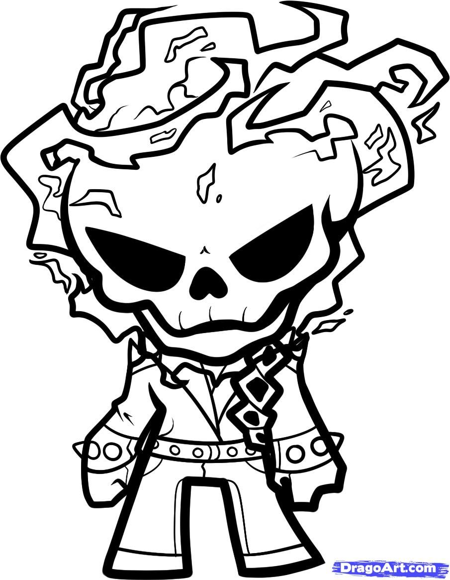 Ghost Rider Coloring Page Unicorn Coloring Pages Avengers Coloring Pages Coloring Pages