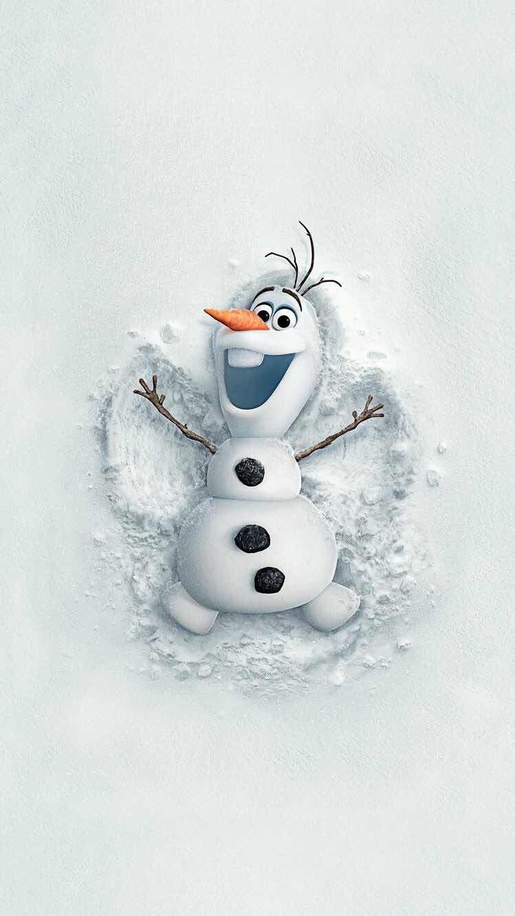 iPhone and Android Wallpapers: Olaf Frozen Wallpaper for iPhone and Android