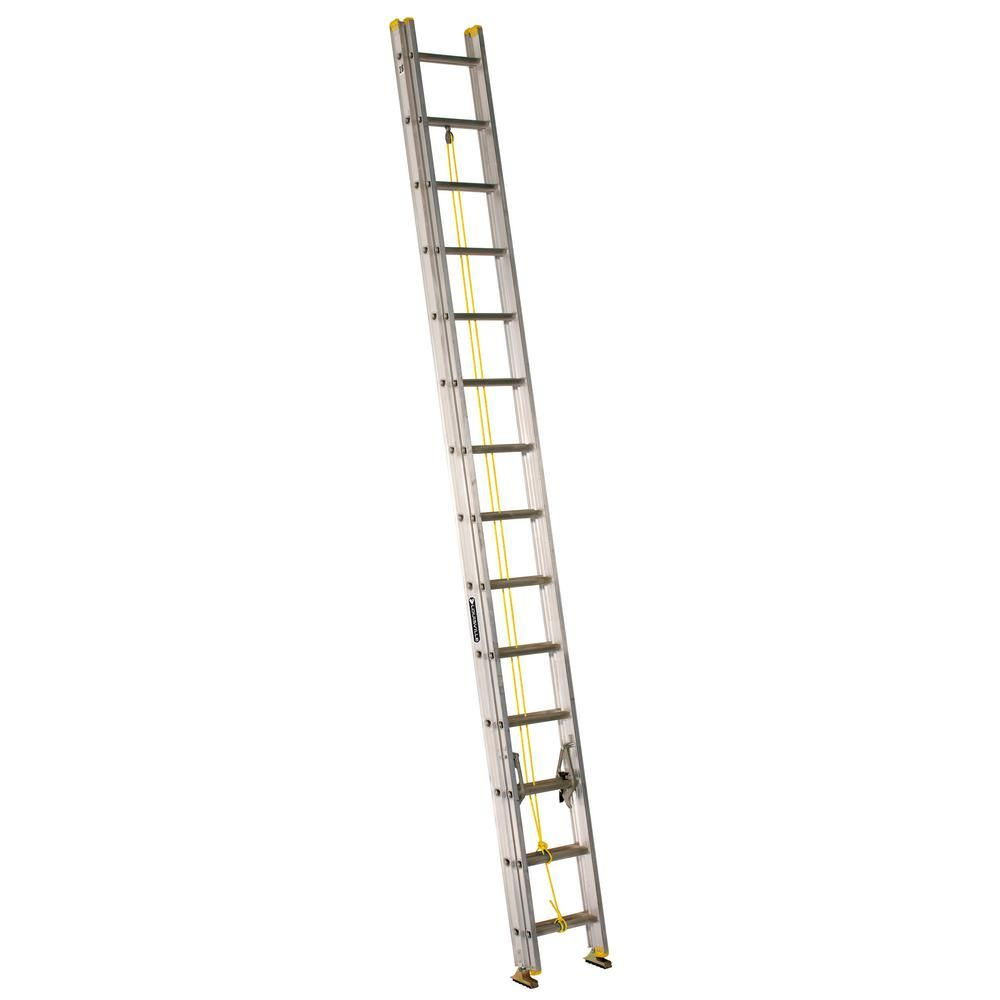 20' Ladder Home Depot Louisville Ladder 28 Ft Aluminum Extension Ladder With 250