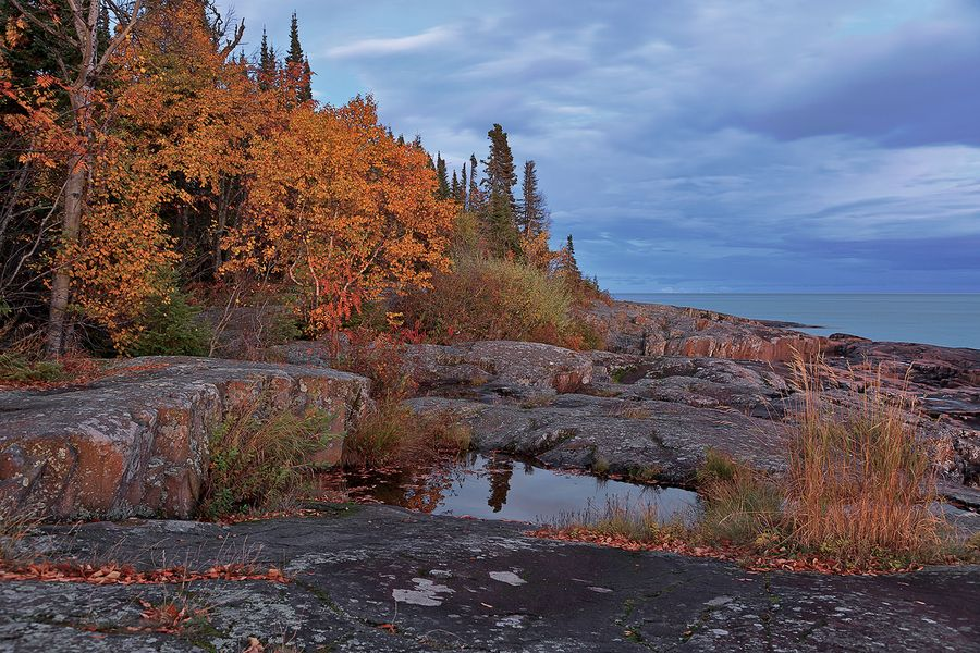 Artist's Point, Grand Marais, MN by Ralph Nordstrom (With