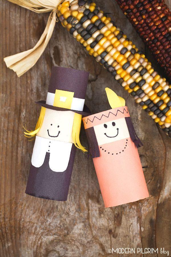 Pilgrim Indian Thanksgiving Kids Craft Pilgrim And Thanksgiving