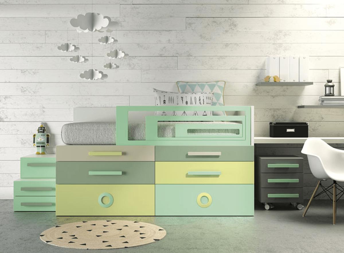 Muebles para dormitorio juvenil moderno – Muebles Intermobel®