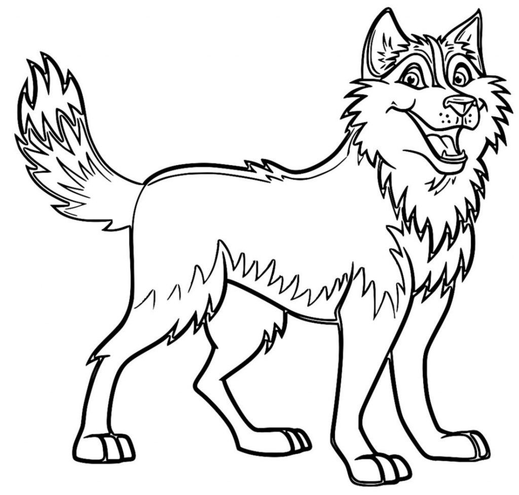 Husky Coloring Pages Shark Coloring Pages Dog Coloring Page
