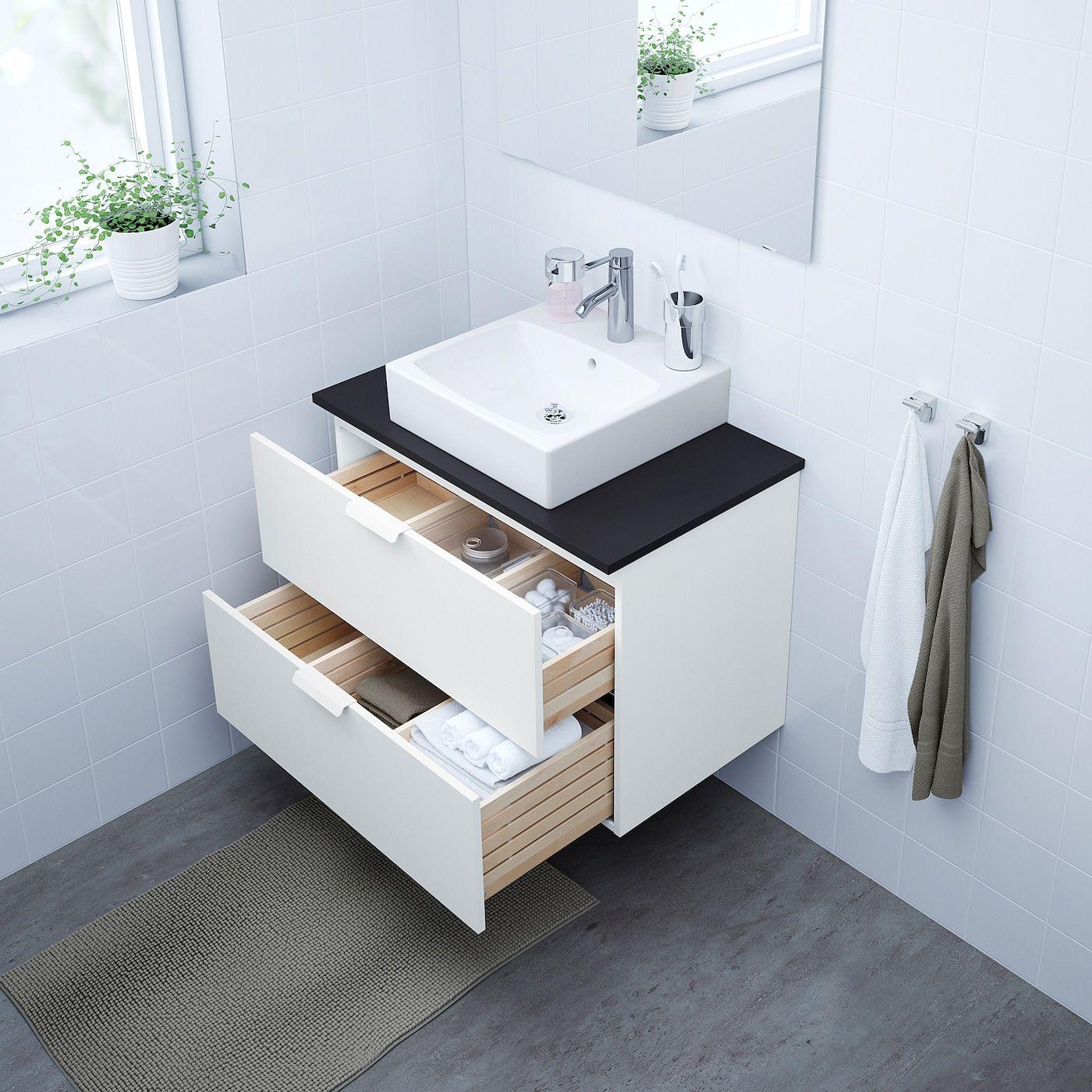 Ikea Godmorgon Tolken Tornviken White Anthracite Dalskar Faucet