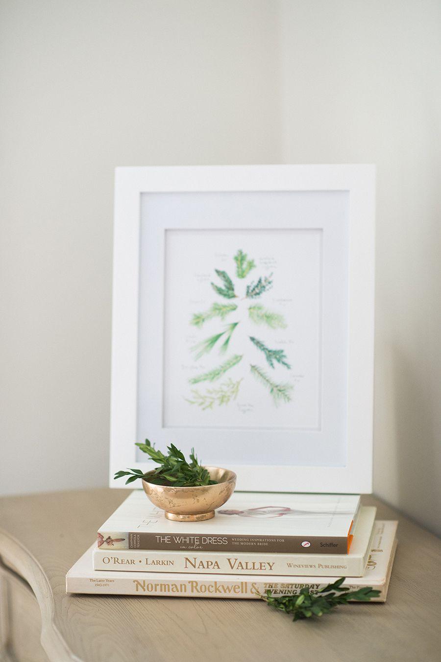 free evergreen printable art