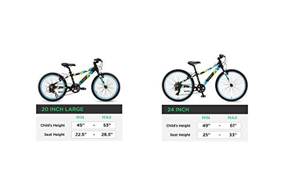 Guardian Lightweight Kids Bike 20 Inch Safe Patented Surestop
