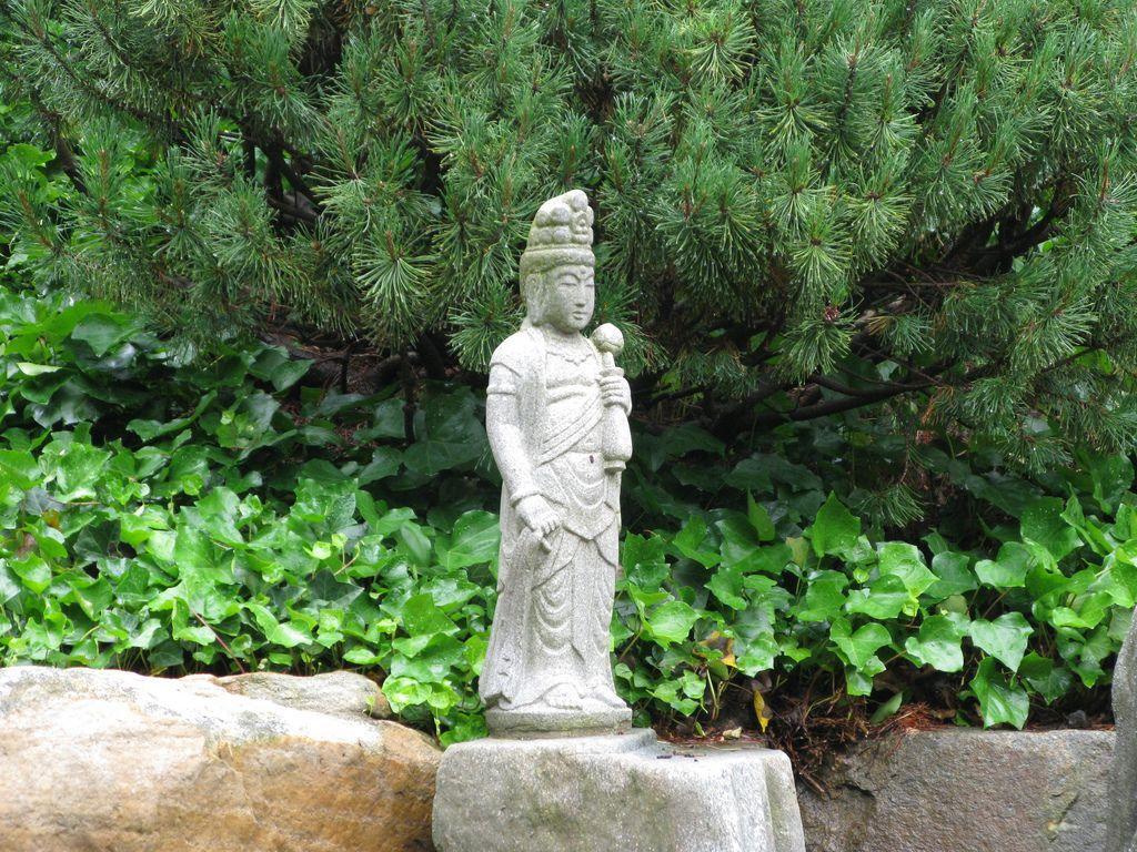 Japanese Garden Statue | Garden statues, Garden ideas and Gardens