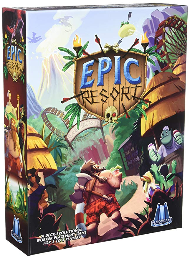 Epic Resort 2Nd Edition Board Game Toys