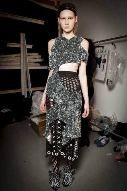 Proenza Schouler AW15 backstage at New York Fashion Week 2015
