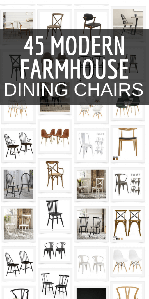 The Best Collection Of Modern Farmhouse Dining Chairs Farmhouse