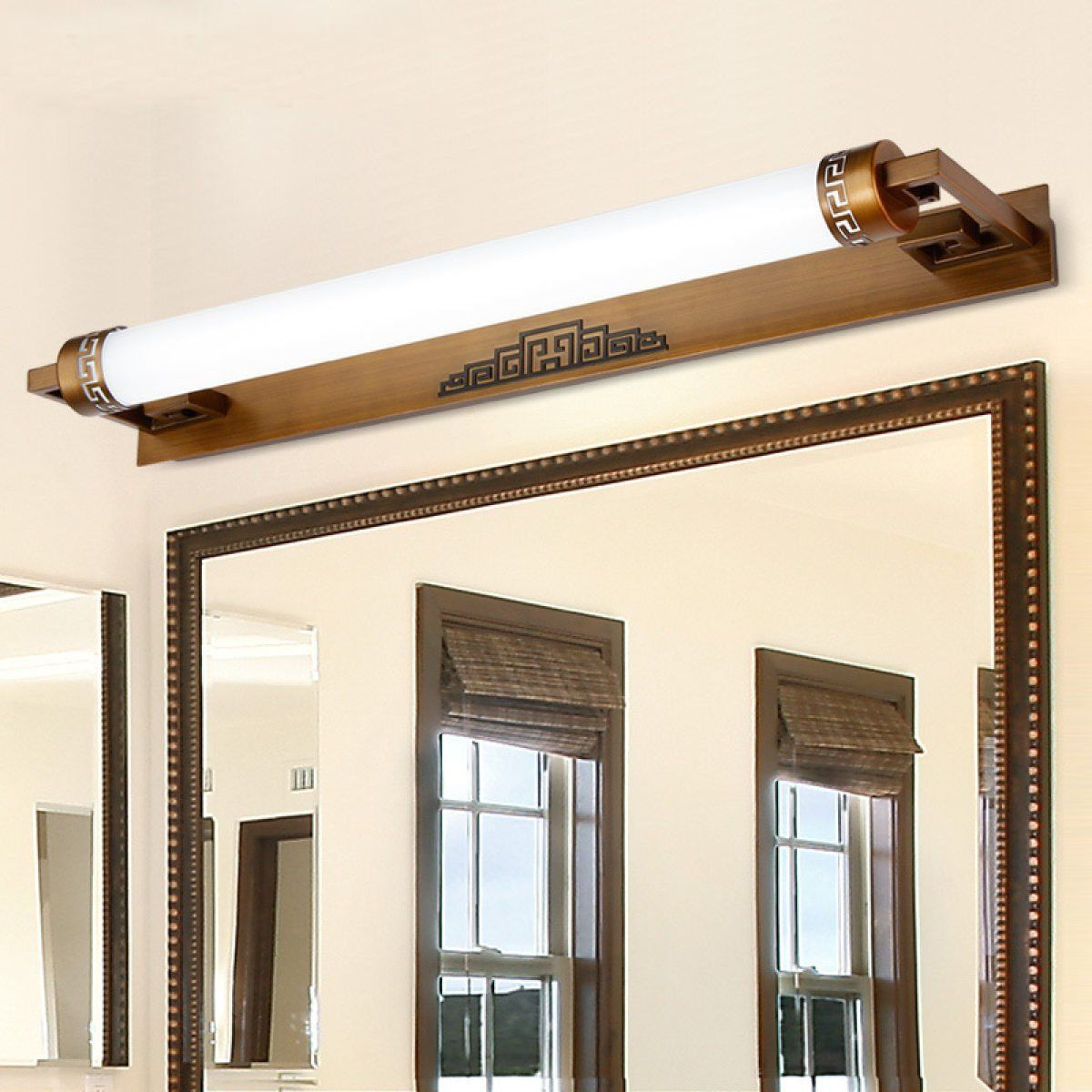 Axiba Chinese Mirror Front Light Led Bedroom Mirror Lamp