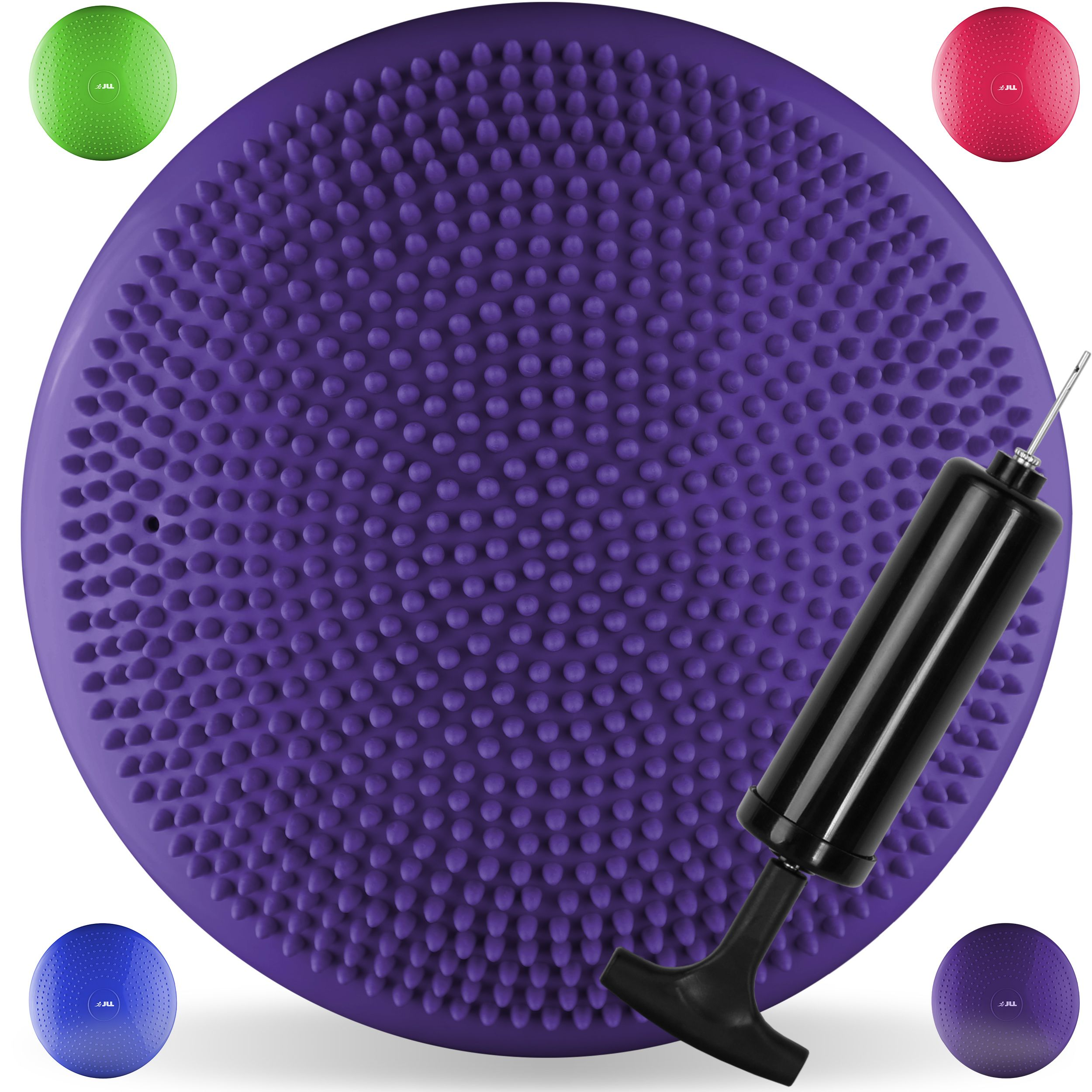Yoga Mats Yoga Pilates Chair Massage Inflatable Cushion Barbed Massage Fitness Balance Mat With Inflatable Tube Catalogues Will Be Sent Upon Request