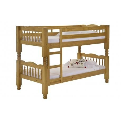 Amazing Trieste Bunk Bed Frame Antique Solid Wood Inspirational - Simple Elegant solid bunk beds Photos