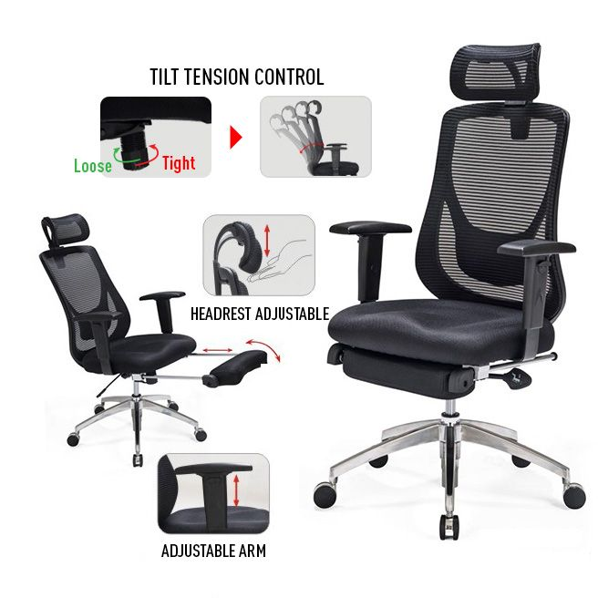 can this go in a living room  best ergonomic chair