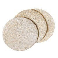 Loofah Face Discs 3 per Pack - 1 - Pack by Earth Therapeutics. $1.30. LOOFAH COMPLEXION DISCS. Loofah Face Discs 3 per Pack by Earth Therapeutics 1 Pack Just as effective as a facial scrub these loofah discs gently exfoliate priming skin for purifying mask and moisturization. Perfectly proportioned for the face. Discs soften and inflate in water. 2 diameter. Save 35%!
