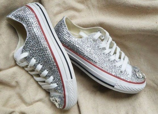 bling converse for women