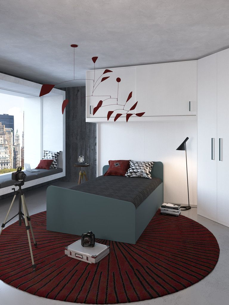 letto una piazza e mezzo | Déco | Pinterest | Bedrooms, Mood ...