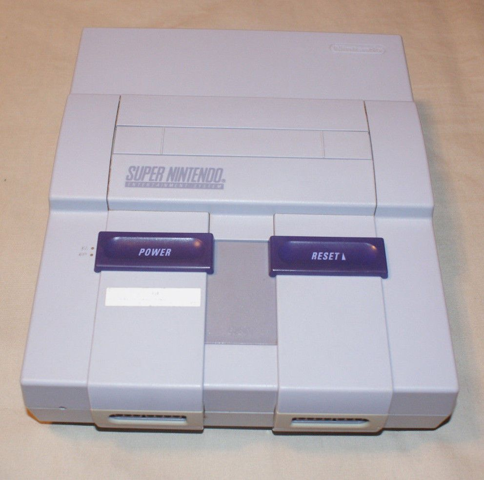 Super Nintendo SNES 1CHIP-01 Console Only! Best Video Quality Very