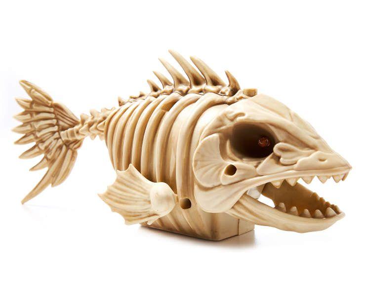 Big Lots Halloween Decorations 2019.Animated Piranha Skeleton At Big Lots Halloween Props