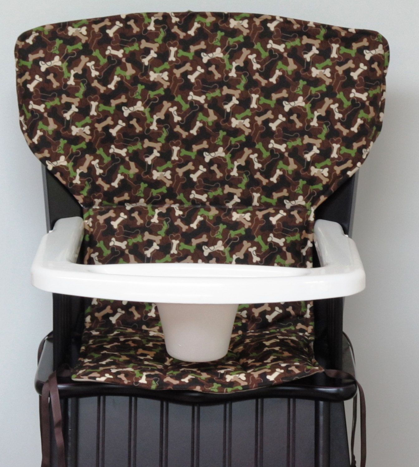 Replacement high chair covers - Eddie Bauer Newport Wooden High Chair Cover Chair Replacement Pad Kids And Baby Safety First Wood Chair Pad Baby Accessory Dog Bone Camo