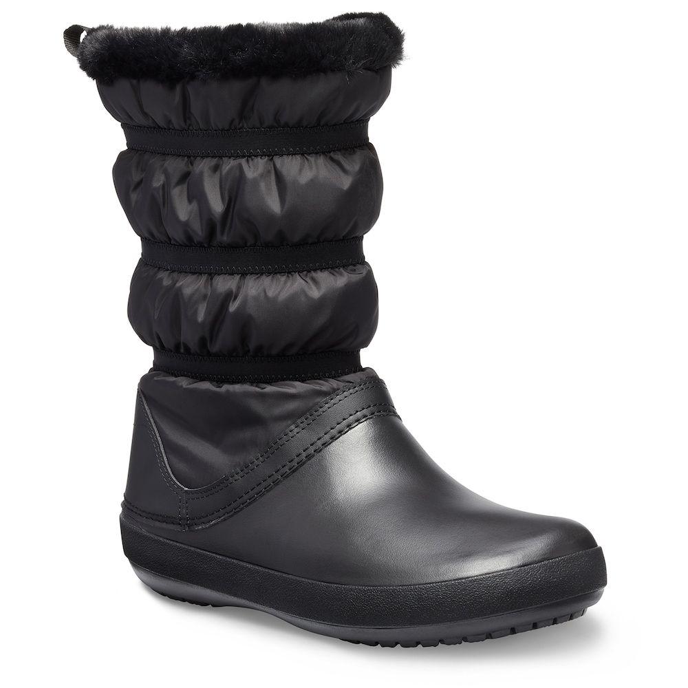best service 904cf 7012a Crocs Crocband Women's Water Resistant Winter Boots, Size ...