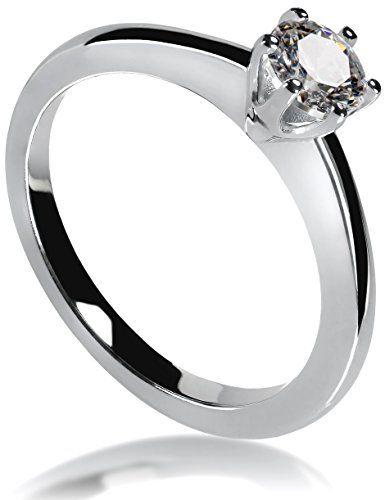 Lars Benz Luxus Ringe Verlobungsring Mit Swarovski Zirkon Http