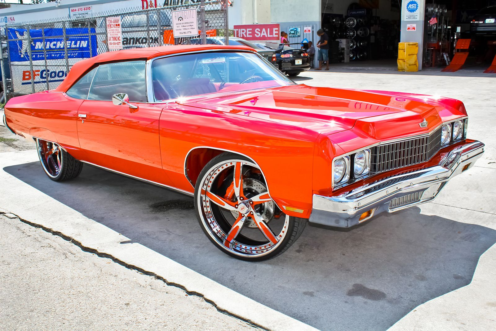 miami donks 2015 | The Donk: Putting Huge Wheels on a Car - photo ...