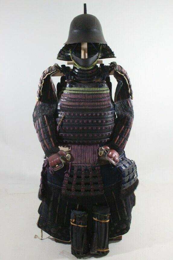 Ecchu Gusoku Yoroi Armor Edo 18 9 22 4 55 5 14 97kg Ebay Samurai Armor Edo Armor