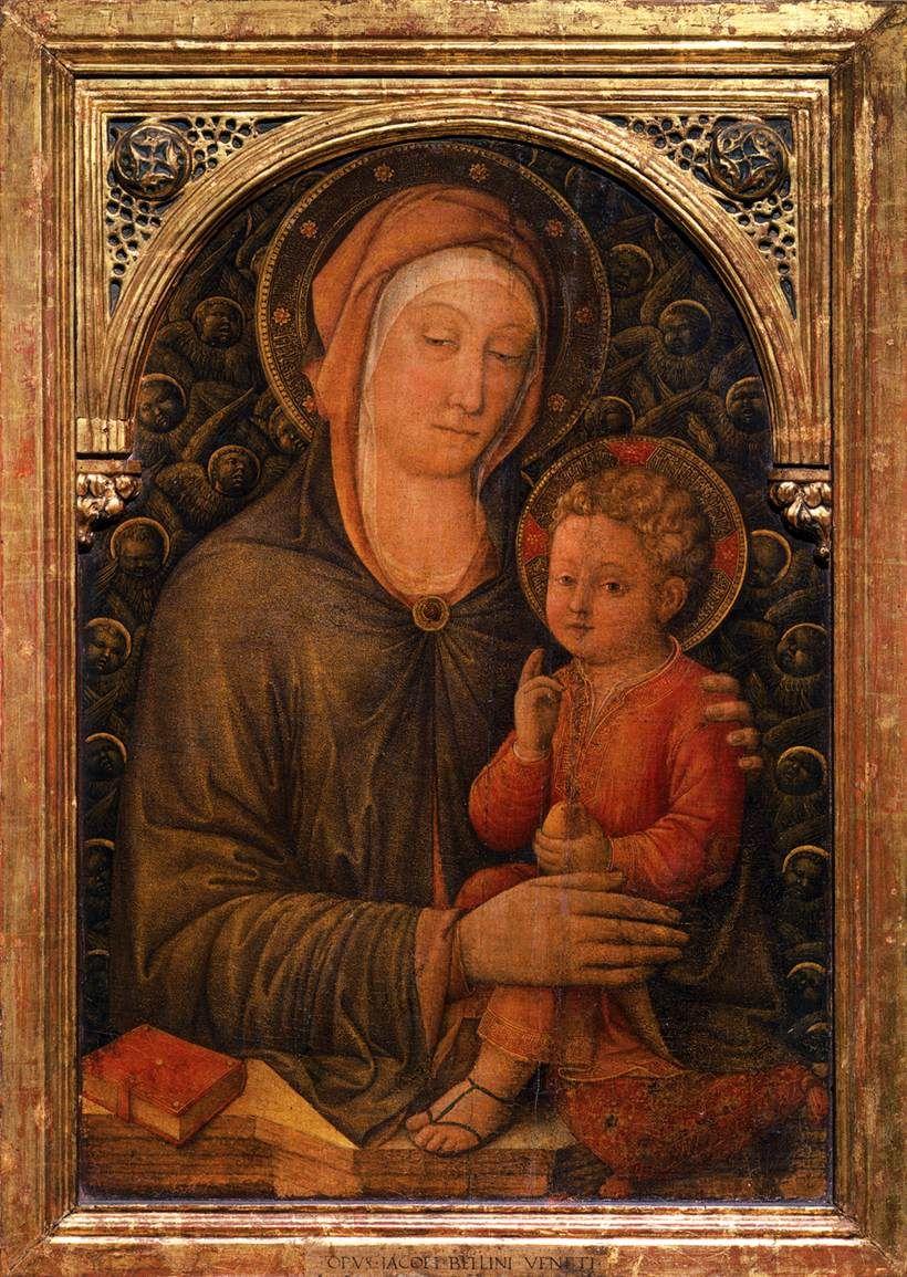 Virgin with Child - Jacopo Bellini
