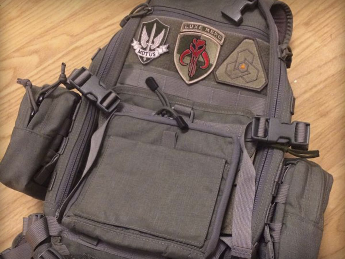 FAST Pack Litespeed with matchingBDS Tactical pouches