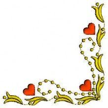 Denissa's Heart Set - Machine Embroidery Designs