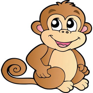 7 monkeys cartoons pictures