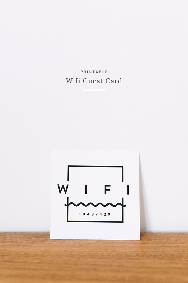 Printable Wifi Guest Card Almost Makes Perfect Wifi Printable Wifi Card Wifi Password Sign