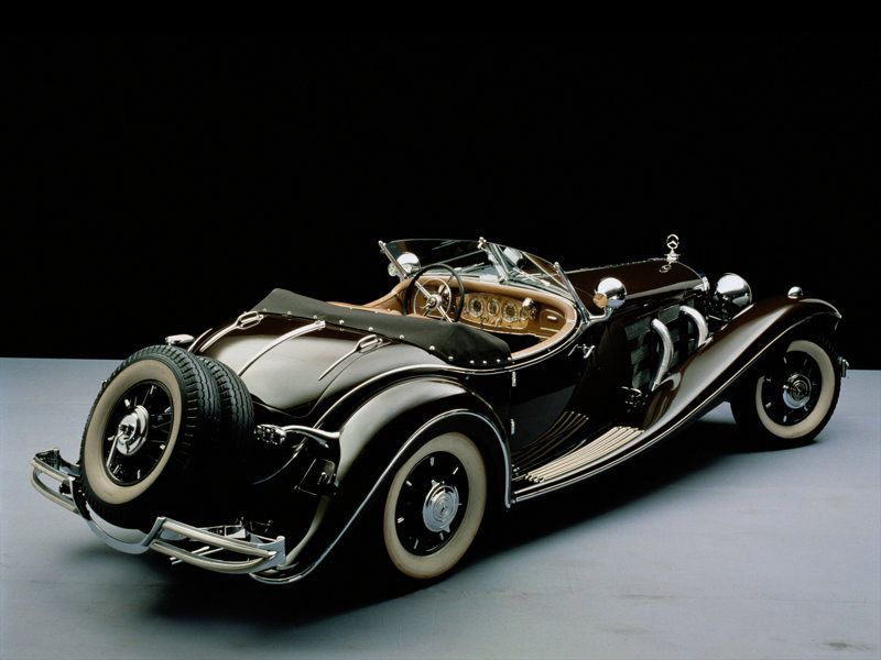 Mercedes-Benz 500K Roadster, 1934