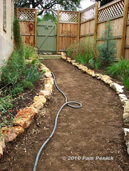How To Make A Hillside Garden Path | Hillside Gravel And Timber Pathu2013done!