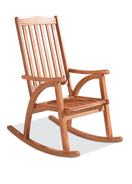 schaukelstuhl holz gro schaukelstuhl aus holz mit armlehnen fauna mecedoras. Black Bedroom Furniture Sets. Home Design Ideas