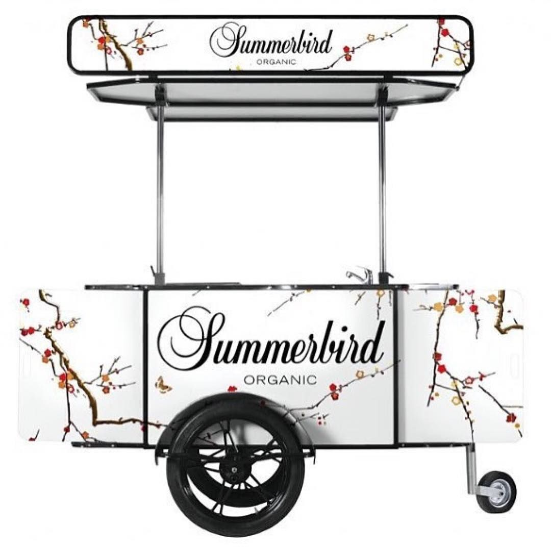 Summer is for treats, sweets, and... custom carts ☀️😊 . . . . . . . #foodcart #foodcarts #foodstand #foodstands #foodtruck #customstand #streetfood #streetfoods #streetvending #oohadvertising #bizzonwheels