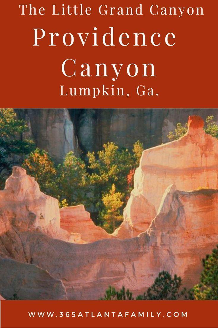 The Secrets of Providence Canyon Georgia's Little Grand Canyon #hikingtrails