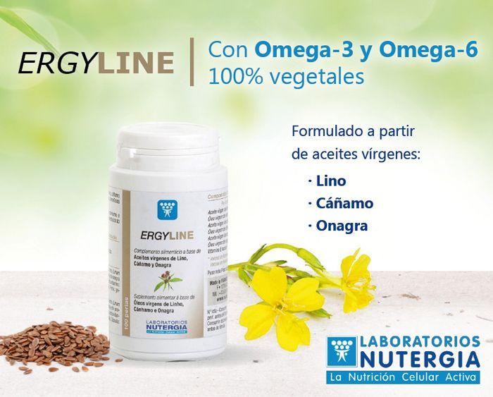 Ergyline Omega 6 Y Omega 3 Vegetales Vegetales Nutricional