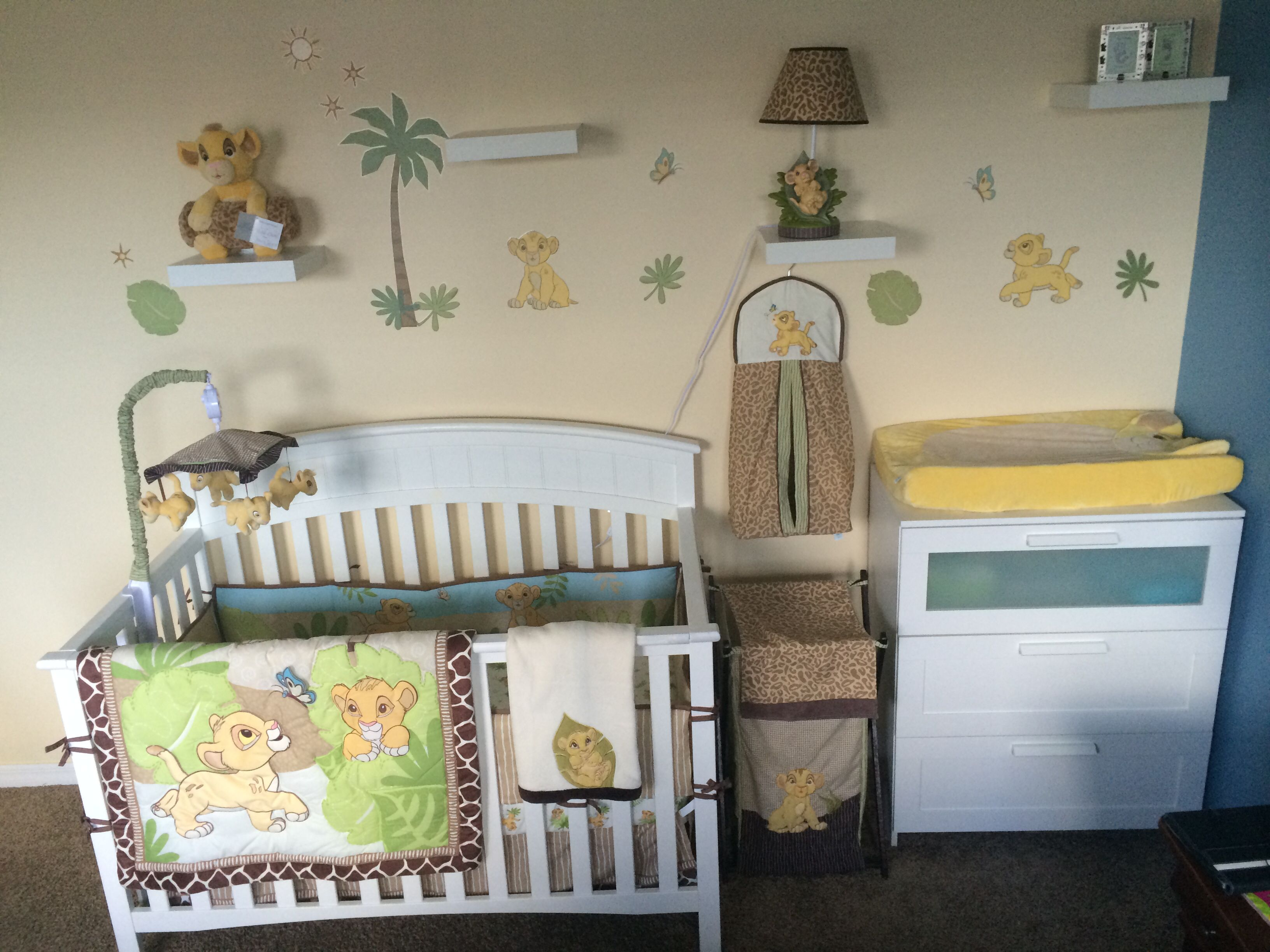 The Lion King Nursery Chambre Bebe Roi Lion Decoration Chambre