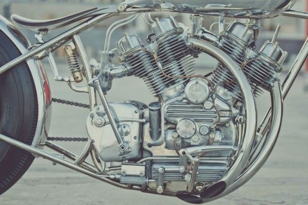 This Stunning Motorcycle That Showcases The Engine is a Piece of Art by Men's Gear | Details Style Syndicate