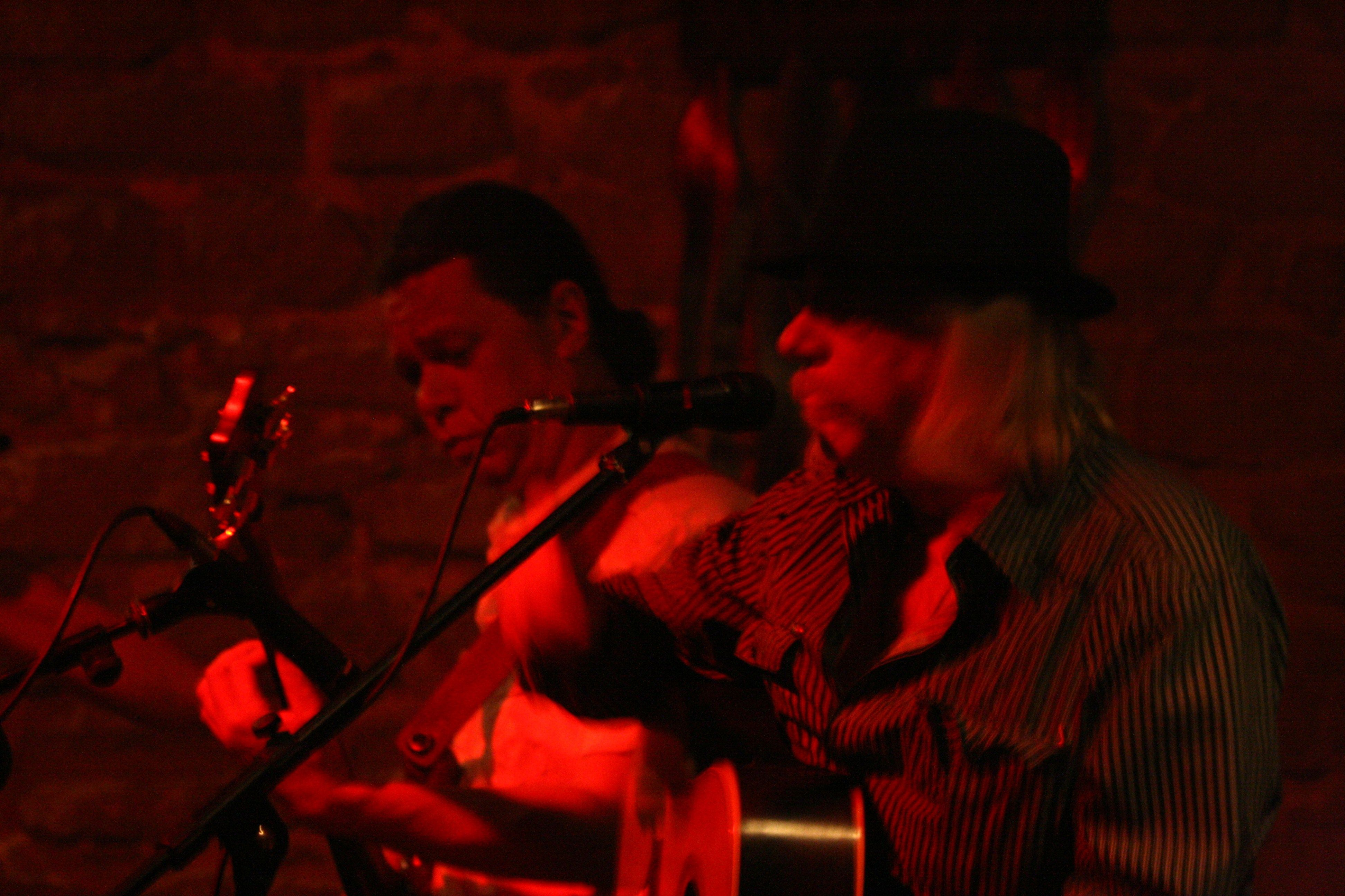 part of Livin'Blues Xperience jamming with The Freewheelers Cello Band