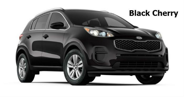 2017 Kia Sportage Black Cherry