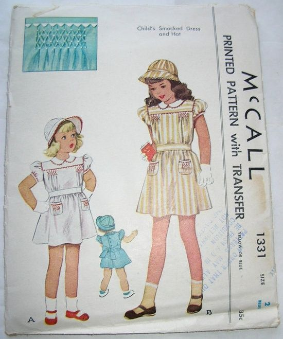 French Hand-Sewing | sewing: smocking & french handsewing / M1331 ...