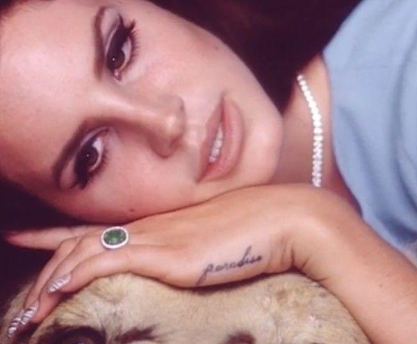 Lana Del Rey National Anthem Nail Art Re Pin Nail Exchange