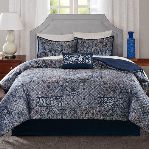 Fairmont 9 Piece Comforter Set Birchlane Comforter Sets