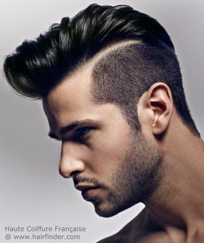 Mens Hairstyles Line
