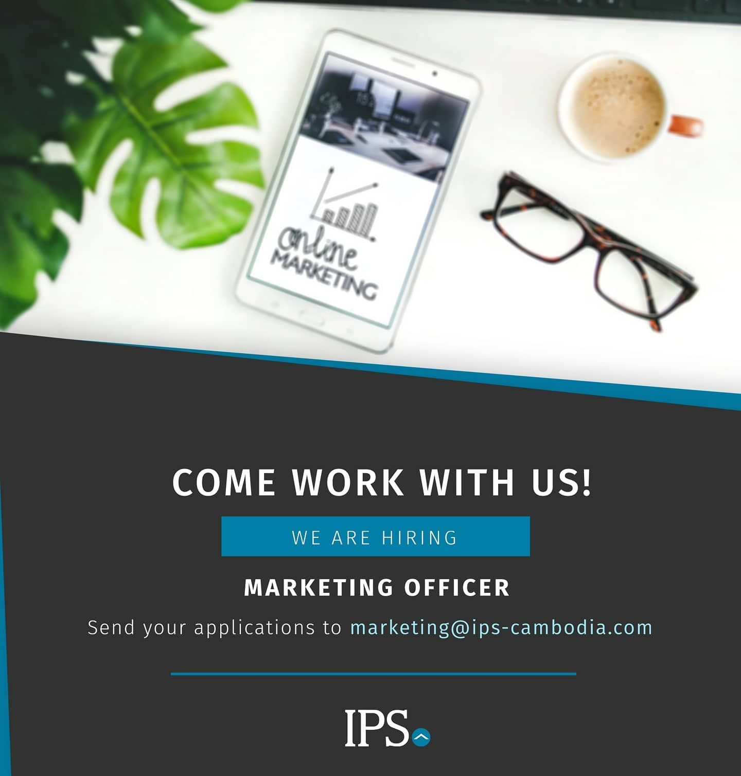 ‼️WE'RE HIRING‼️ IPSCambodia is looking for a talented