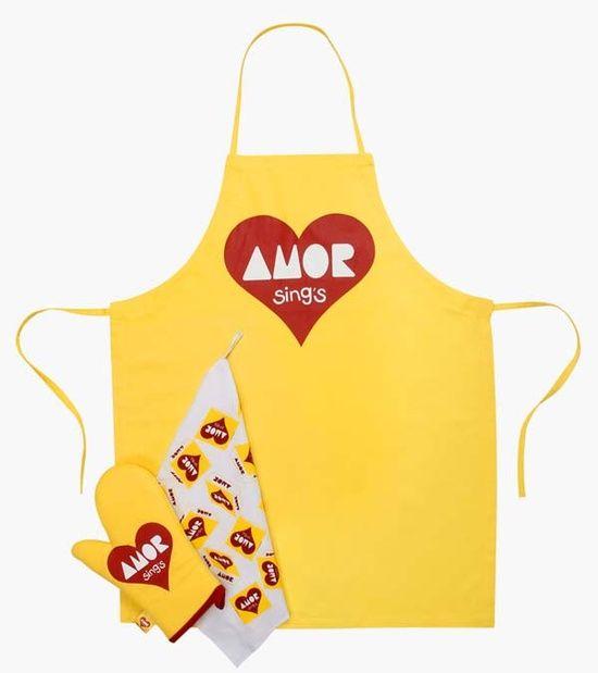 avental luva de forno e pano de prato pacoca amor luva de forno panos de prato avental pinterest