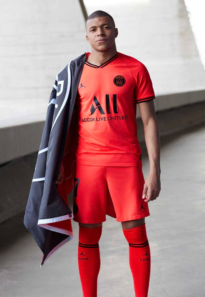 PSG x Jordan Launch 2019/20 Away Kit Psg, Football